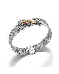 John Hardy Metallic Mesh Bracelet