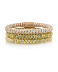 Carolina Bucci - Metallic Twister Set Of Three Gold-Plated Bracelets - Lyst