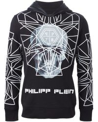 Philipp Plein - Black 'better Now' Hoodie for Men - Lyst