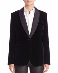 Polo Ralph Lauren Black Velvet Tuxedo Jacket