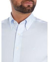 GANT White Diamond G Pin Point Shirt for men