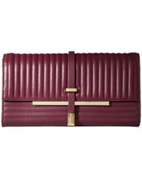 Vince Camuto | Purple Leila Clutch | Lyst