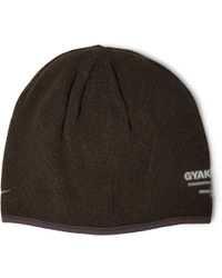 Nike Green Gyakusou Outlast Knitted Beanie Hat for men