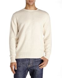 Mine - Natural Wool Sweater for Men - Lyst