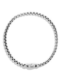 David Yurman Metallic Medium Box Chain Bracelet for men