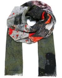 Givenchy - Orange Love Scarf for Men - Lyst