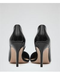 Reiss | Black Blake High-back Court Shoes | Lyst