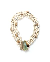 Alexis Bittar | Multicolor Multi-strand Tressard Necklace | Lyst