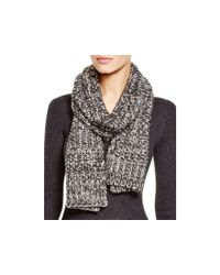 Echo - Black Sequin Sparkle Scarf - Lyst