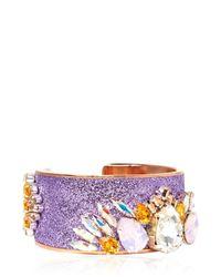 Bijoux De Famille | Purple Supernova Cuff Bracelet | Lyst
