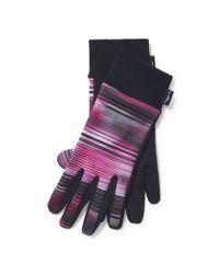 Ralph Lauren   Pink Lined Touch Screen Gloves   Lyst