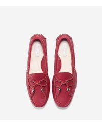 Cole Haan Red Women's Grant Driver