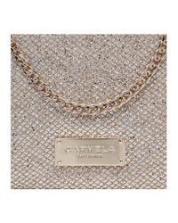 Carvela Kurt Geiger Metallic Glitter Clutch