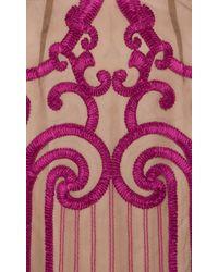 Temperley London - Purple Long Catroux Dress - Lyst