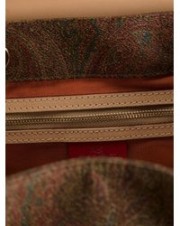 Etro - Multicolor Paisley Print Backpack - Lyst