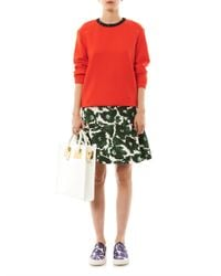 Mother Of Pearl | Orange Issik Embellished Sweater | Lyst