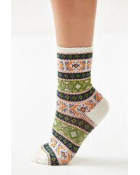 Anonymous Ism | White Intarsia Sock | Lyst