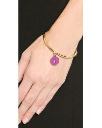 kate spade new york - Metallic Zodiac Charm Bangle Bracelet - Capricorn - Lyst