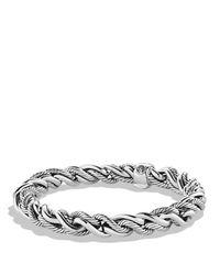 David Yurman Metallic Woven Cable Bracelet for men