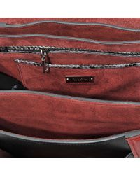 Miu Miu | Red Amiulet Patchwork Top Handle Bag | Lyst
