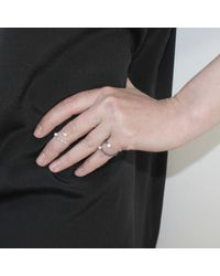 Dorota Todd | Metallic Kosmos Ring Silver | Lyst