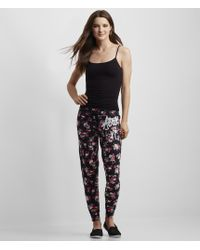 Aéropostale | Gray Blurred Floral Aero Nyc Jogger Sweatpants | Lyst