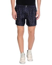 Dolce & Gabbana Blue Bermuda Shorts for men