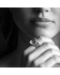 David Yurman - Metallic Wheaton Ring With Citrine And Diamonds - Lyst