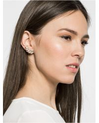 BaubleBar | Green Olympia Ear Crawlers | Lyst