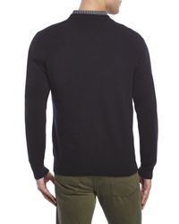 Qi - Black Soft Cashmere Sweater for Men - Lyst