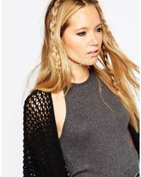 ASOS | Metallic Statement Festival Nose To Ear Chain | Lyst