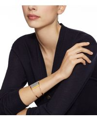 Tory Burch - Metallic Asymmetrical Cuff - Lyst