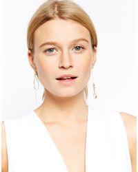 ASOS | Metallic Pretty Mismatch Earrings | Lyst