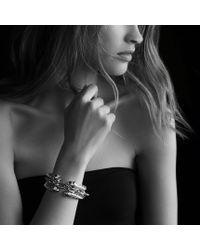 David Yurman - Metallic Renaissance Bracelet with Lapis Lazuli Turquoise and Gold - Lyst