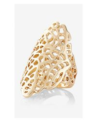 Express | Metallic Filigree Ring | Lyst