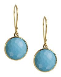 Ippolita | Blue Mini Lollipop Earrings | Lyst
