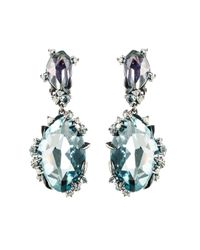 Alexis Bittar - Blue Midnight Marquis Drop Clip Earring You Might Also Like - Lyst