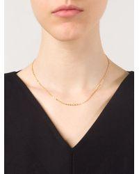 Marie-hélène De Taillac - Metallic Hearts Necklace - Lyst