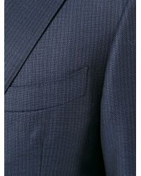 Canali - Blue Two-pieces Striped Suit for Men - Lyst
