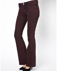 M.i.h Jeans | Purple The Casablanca Trouser In Shadow | Lyst