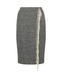 Hobbs - Black Harewood Skirt - Lyst