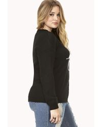 Forever 21 | Black Contemporary Boxy Turtleneck | Lyst