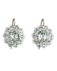 Alexis Bittar | Metallic Paste Stone Flower Earring | Lyst