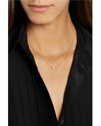 Jennifer Meyer | Metallic Bff 18-Karat Gold Diamond Necklace | Lyst