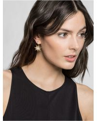 BaubleBar Metallic Celestial Ear Jackets