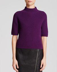 Theory Purple Jodi Fine Haven Sweater - Bloomingdale'S Exclusive