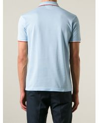 Pringle of Scotland Blue Logo Polo Shirt for men