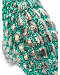 Venyx | Green 'lady Caiman' Ring | Lyst