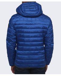 Napapijri Blue Aerons Hood Quilted Jacket for men