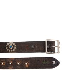 HTC Hollywood Trading Company Brown Belt